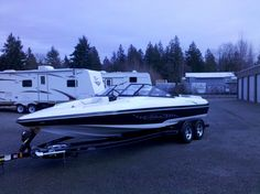 Hydrostream's answer for the ski/wakeboard boat, the Ventura An open bow I/O 596 that goes 72 mph. Available options . a wakeboard tower. Fast Boats, Speed Boats, Power Boats, Wakeboard Boats, Ski Boats, Sup Surf, Water Photography, Big Waves, Big Challenge
