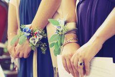 Cigales et Petits Fours: mariage J&O - bridesmaid - bracelets des témoins