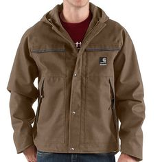 Carhartt Ketchikan Canvas Jacket - Waterproof (For Men)