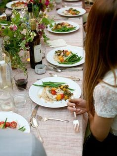 How to plan the right amount of food for a dinner party