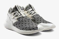 The adidas Tubular Entrap Arrives in Patterned Primeknit.