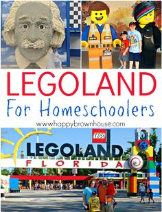 Did you know that Legoland has Homeschool Days?! Tips for visting Legoland Florida theme park for homeschool families. If you have a lego lover, you'll love these tips for discount Legoland tickets, staying cool, education ideas, and more. Even if you don't homeschool, there are some great tips! Can't wait to take the kids on a trip!