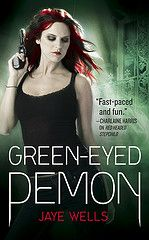 Book three, GREEN-EYED DEMON