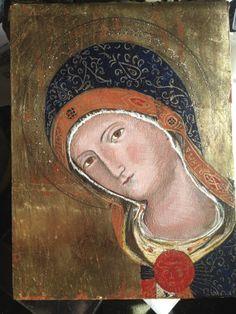 Virgen de la humildad, copia, diciembre 2013