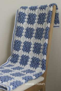 Today I'll be sharing my Granny Square Blanket Pattern. Follow along with my step-by-step instructions and soon you'll have your own Granny Square Blanket! #CrochetGrannySquarePattern