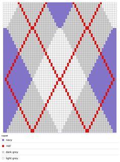 Argyle Socks Pattern #7201 | Sock patterns, Sock knitting ...