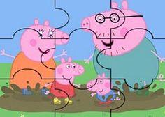 JuegosdePeppacom  Juego Rompecabezas Amigos de Peppa Pig
