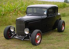American Graffiti 32 Ford   Franklin Mint 1932 Ford Milner S American Graffiti Deuce Coupe Hot Rod ...