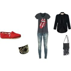 Cool outfit for red toms. I really like the shirt lol