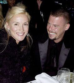 Daphne Guinness and Alexander McQueen