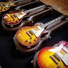 Gibson Custom Les Paul  58, 59, and 60 Latest Spec Guitars