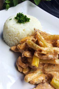 Zöldbabos csirketokány | Gastrohobbi