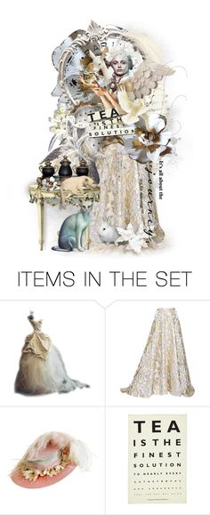"""""""Drink Tea on Your Journey"""" by gailwind ❤ liked on Polyvore featuring art and vintage"""