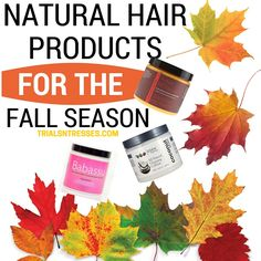 Natural Hair Products To Add To Your Hair Care Regimen This Fall