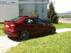 Sienarot II BMW e36 compact on OEM BMW 18'' Styling 32 wheels