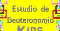 Deuteronomio KIDS Cap 1-15.pdf Lds, Pray, Bible Studies, Sunday School, Bible, Blue, Libros, Houses