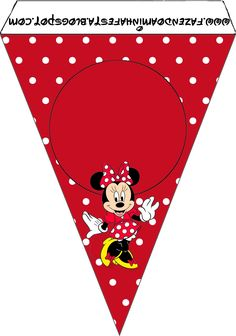 Compartimos unos lindos modelos de banderines de Minnie para descargar e imprimir totalmente gratis. Todos los banderines tienen la figura de la ratoncita, los mismos cuentan con colores rojizos, b…