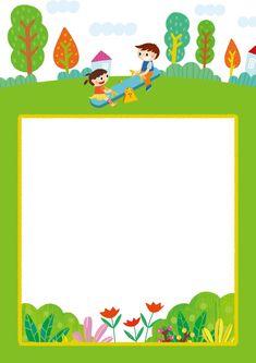 [찬진교육] 유치원 어린이집 메모지, 편지지, 안내문, 가정통신문 도안 : 네이버 블로그 Borders For Paper, Borders And Frames, Preschool Worksheets, Preschool Activities, Powerpoint Background Design, School Frame, Envelope Art, Guitar Art, Binder Covers