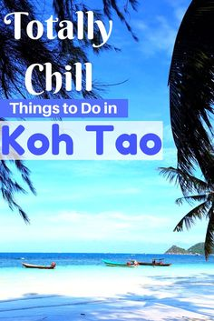 Totally Chill Things to Do on Koh Tao, Thailand. A guide to what to see and do on one of the best islands in Thailand! A relaxing getaway destination. Thailand Travel Guide, Asia Travel, Thailand Pictures, Thai Islands, Koh Tao, Travel Couple, Southeast Asia, Cool Places To Visit, Travel Guides