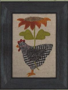THIS IS FOR THE PATTERN ONLY. Sweet Little Henny Penny is a wonderful pattern design by Bonnie Sullivan of All Through The Night. Finished
