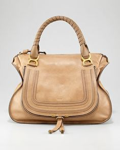 Chloé Marcie Large Shoulder Bag, $1,995, available at Neiman Marcus.