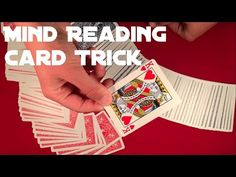Beginner Mind Reading Card Trick Tutorial! - YouTube