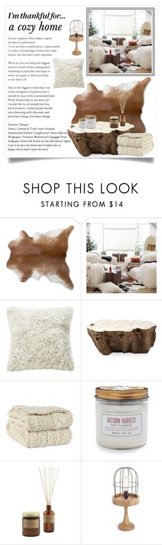 """""""Happy thank's giving"""" by krista-zou on Polyvore featuring interior, interiors, interior design, home, home decor, interior decorating, PBteen, Palecek, Sur La Table and GO Home Ltd."""