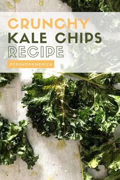 Easy, Crunchy Kale Chips Recipe Skewer Recipes, Snack Recipes, Healthy Recipes, Easy Snacks, Yummy Snacks, Making Kale Chips, Kale Chip Recipes, Dairy Free Snacks, Veggie Chips