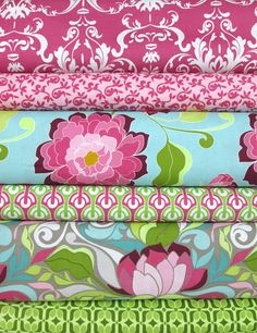 Riley Blake, Halle Rose, Orchid in FAT QUARTERS 5 Total