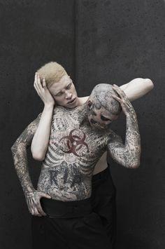 Rick Genest & Shaun Ross By Joachim Baldauf For TRAFFIC