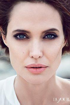 Анджелина Джоли для DuJour