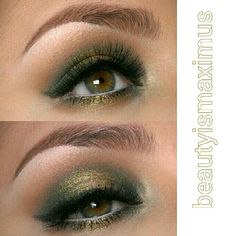 Used Old Gold pigment by Mac. My favorite pigment ever.
