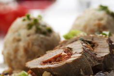 Φέτα Χωριό ή Χωριό Ελαρφύ ανακατεμένο με μυρωδικά και πιπέρι, γεμίζουν το ψαρονέφρι που ψήνεται και ροδίζει στο φούρνο. Ταιριάζουν υπέροχα με πατάτες!