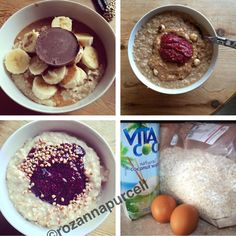 Protein Porridge – The Original Fuel Natural Born Feeder, Come Dine With Me, Fodmap, Acai Bowl, Oatmeal, Protein, Clean Eating, Paleo, Good Food
