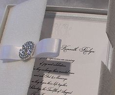 These invitations are amazing for a winter wedding!!