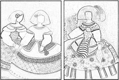 """Secuencia Didáctica """"Las Meninas y Velázquez"""" de Ana Galindo Doodle People, Multimedia Arts, Baroque Fashion, Colouring Pages, Teaching Art, Fabric Art, Oeuvre D'art, Great Artists, Art Pictures"""