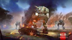 В игре War Thunder появились ходячие танки