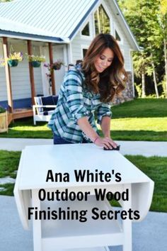 Outdoor Wood Furniture Finishing Secrets