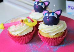 Luna cupcakes! #sailormoon