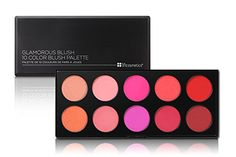 Shop our collection of face makeup at BH Cosmetics. Face makeup products designed for all skin tones, including foundation, concealer, blush, bronzer and more! Makeup Box, Blush Makeup, Face Makeup, Makeup Ideas, Palette, No Foundation Makeup, Makeup Collection, Beauty Care, Makeup Cosmetics