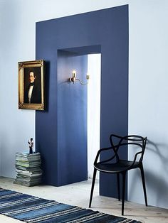 wall paint door frame