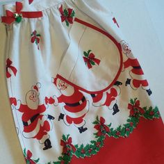 COUPON CODE -CYBERMONDAYSAVINGS 15% OFF TOTAL  11-30 2015 ONLY www.etsy.com/listing/251412364/christmas-santa-apron-coupon-code