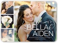 5x7 Pearl Paper Wedding Announcements & Engagement Announcements | Shutterfly
