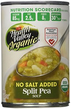Health Valley Organic Split Pea Soup, 15 Fluid Ounce (Pack of 12) ** Awesome product. Click the image at  : Easy Dinner Meals