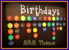 Birthday Board Never Forget a Birthday Again by Pearlized on Etsy, $45.00