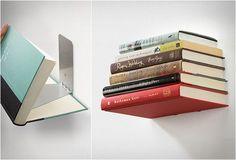 Об интересных вариантах книжных полок своими руками | Дизайн ...