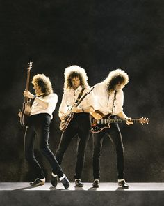 Brian May of Queen. wearing clogs!