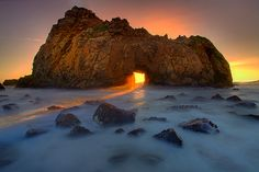 Pfeiffer Beach, Big Sur, California (Photo by Kevin Mcneal)