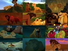The Lion King 2 one of my favorite movies :) Kovu and Kiara (one of my fave Disney couples, not even kidding) Lion King Series, Lion King Movie, Disney Lion King, Disney And More, Disney Love, Disney Magic, Disney Art, Disney Couples, Disney And Dreamworks