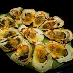 The char broiled oysters at Louisiana Crawfish Time are picture perfect.